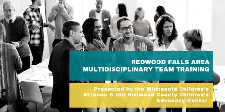 Redwood County Area MDT Training tickets