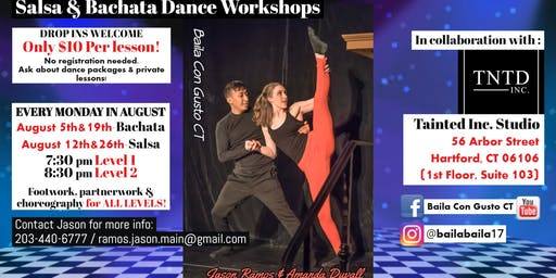 Salsa & Bachata Dance Workshops
