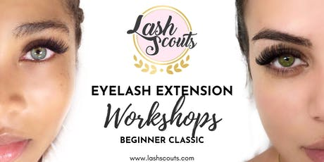 Lash Scouts Beginner Classic Eyelash Extension Workshop (SPANISH) tickets