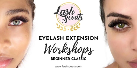 Lash Scouts Beginner Classic Eyelash Extension Workshop (SPANISH) ingressos