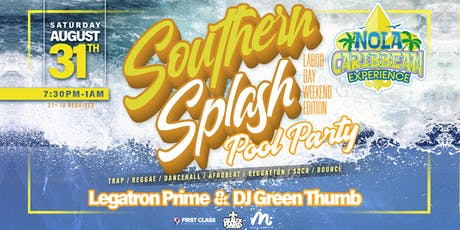Southern Splash Pool Party Labor Day Weekend Edition @ The Drifter Hotel New Orleans tickets