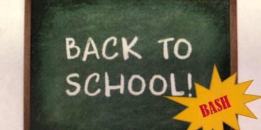 BACK-TO-SCHOOL BASH!