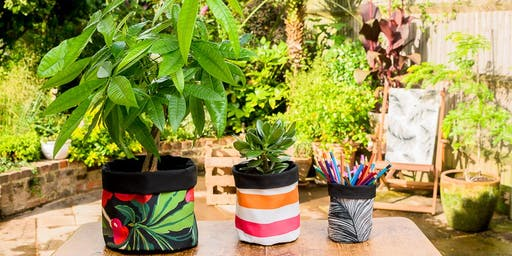 Sew your own Fabric Pot Workshop