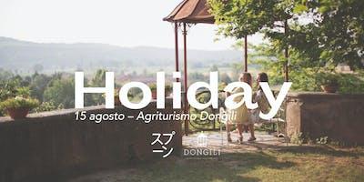 Holyday all'Agriturismo Dongili!