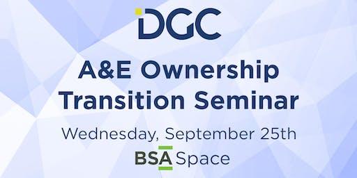 A&E Ownership Transition Seminar