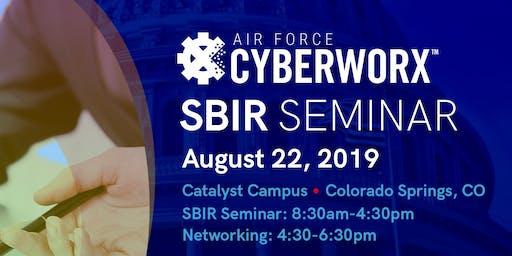 Presenters Registration - Air Force CyberWorx SBIR Seminar