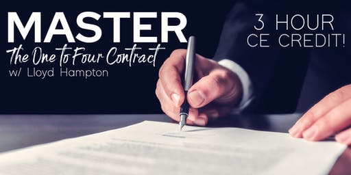 Master The One to Four Contract w/ Lloyd Hampton