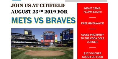 Mets v Braves August 23 2019