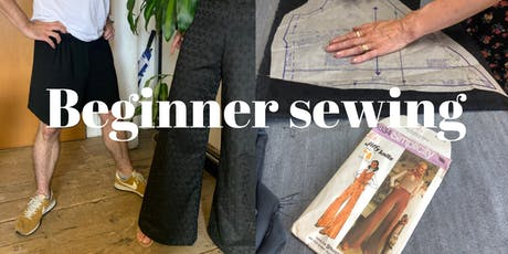 Beginner Sewing Course - Shorts or Pants tickets