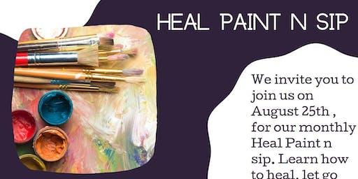 Heal Paint Sip
