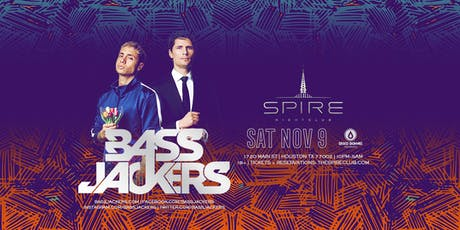 Bassjackers / Saturday November 9th / Spire tickets