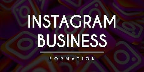 Instagram Business - Formation 2 Jours billets
