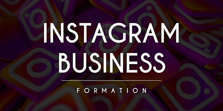 Instagram Business - Formation 2 Jours billets