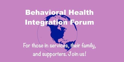 Thurston Mason Behavioral Health Integration Forum