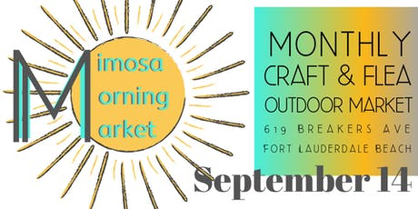 Mimosa Morning Market on Breakers Ave at The Plaza Bistro tickets