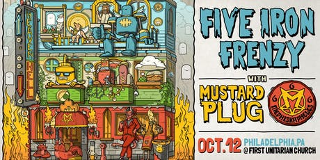 Five Iron Frenzy ~ Mustard Plug ~ Mephiskapheles tickets