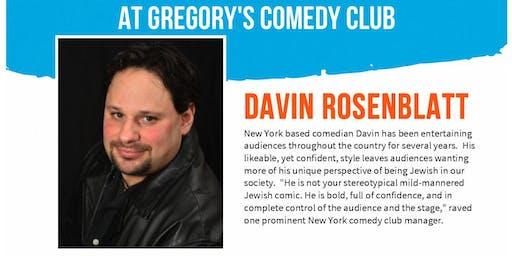 Gregory's Cocoa Beach Comedy Club Davin Rosenblatt w/ Xavier Aug 15-17 !