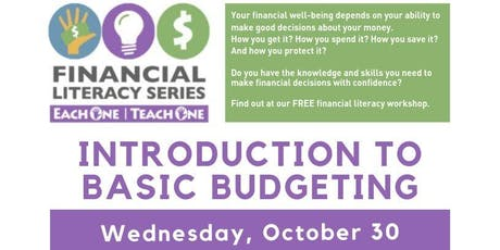 Financial Literacy - Introduction to Basic Budgeting tickets