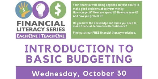Financial Literacy - Introduction to Basic Budgeting