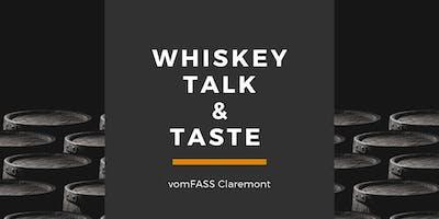 Whiskey Talk & Taste
