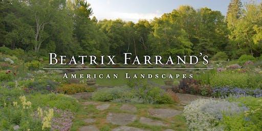 Beatrix Farrand's American Landscapes