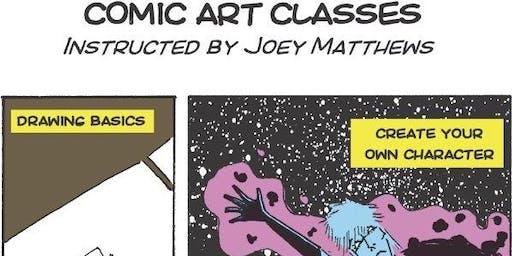 Maker Bean Art of Comic Illustration Camp (ages 12-17)