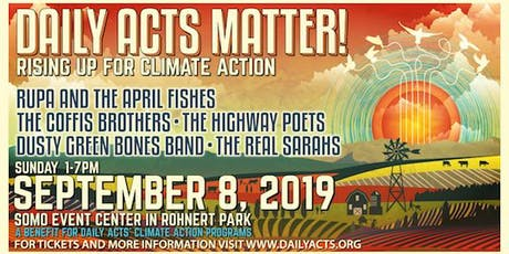 DAILY ACTS MATTER! RISING UP FOR CLIMATE ACTION tickets