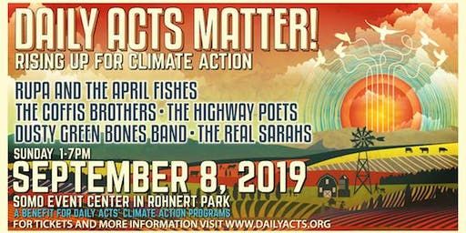 DAILY ACTS MATTER! RISING UP FOR CLIMATE ACTION