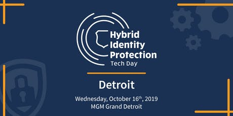 Hybrid Identity Protection Tech Day: Detroit  [Followed by TopGolf] tickets