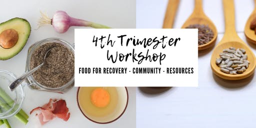 4th Trimester Workshop Hosted By The Lowcountry Well-Being Cooperative