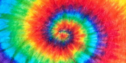 Natural tie-dying