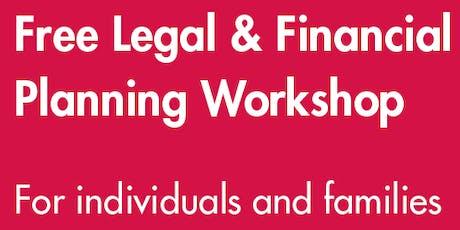 Alzheimer's & Dementia Alliance Legal and Financial Planning Seminar tickets