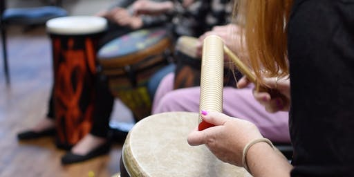 CANCELED: August Community Drum Circle