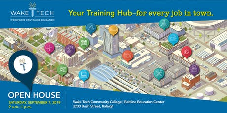 2019 Wake Tech Workforce Continuing Education Open House tickets