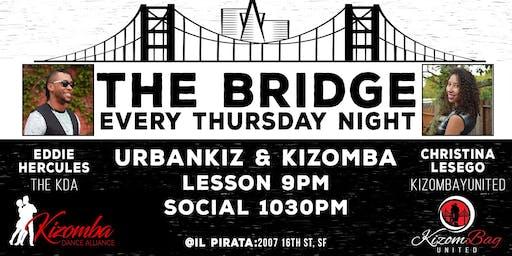 The Bridge: Kizomba & Urban Kiz in the City