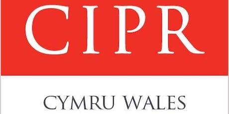 CIPR Cymru AGM 2019 tickets