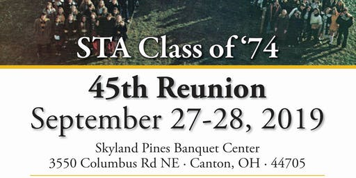 STA Class of 1974 - 45th Reunion