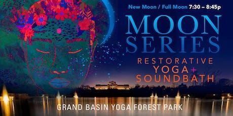 MOON SERIES: Restorative Yoga + Soundbath tickets
