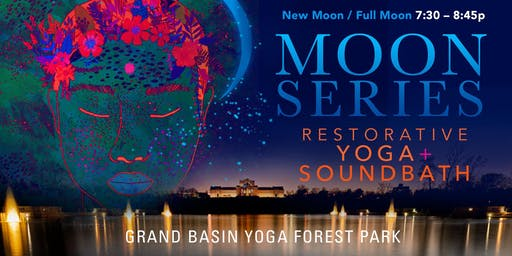 MOON SERIES: Restorative Yoga + Soundbath
