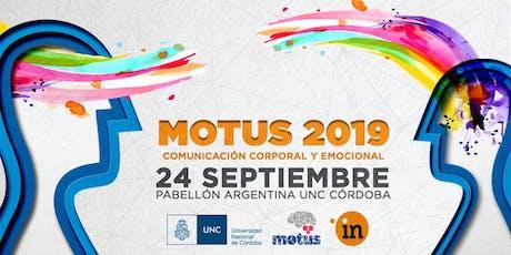Jornada Motus 2019 - Comunicación Corporal y Emocional entradas