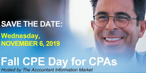 Fall CPE Day for CPAs