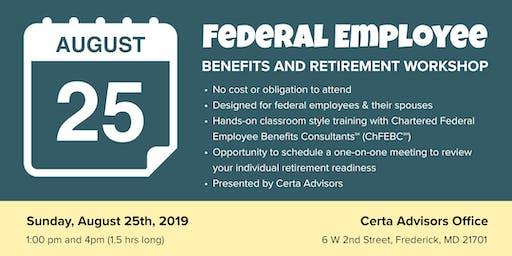 Federal Employee Benefits & Retirement Workshop