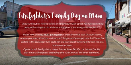 Firefighter's Family Day on Main tickets