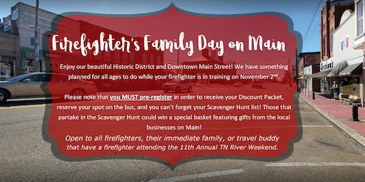 Firefighter's Family Day on Main