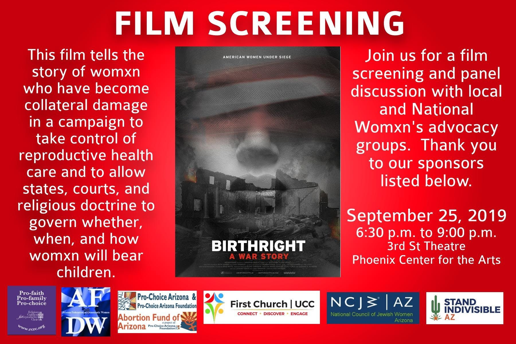 Birthright Film Screening & Conversation
