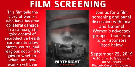 Birthright Film Screening & Conversation tickets