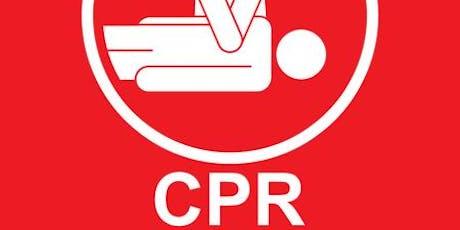 HeartSaver CPR tickets