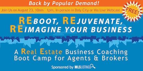 REboot, REjuvenate, REimagine Your Business tickets