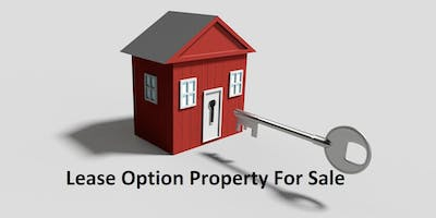 Lease Option Property For Sale