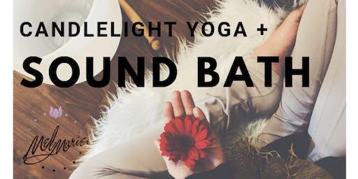 Candlelight Yoga + Sound Bath